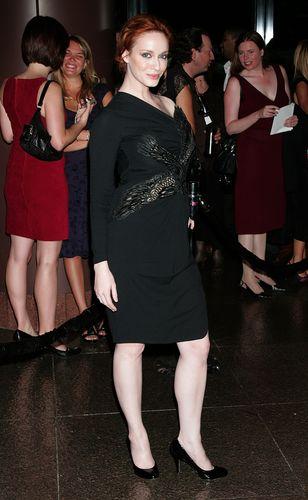 Christina Hendricks   Mad Men Season Three Premiere