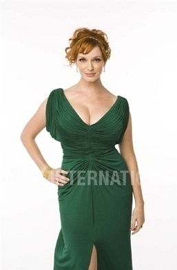 Christina Hendricks wallpaper with a dinner dress and a cocktail dress called Christina Hendricks | People Photoshoot