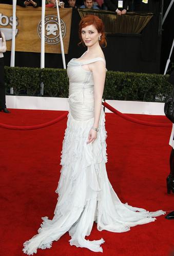 Christina Hendricks   Screen Actors Guild Awards 2008
