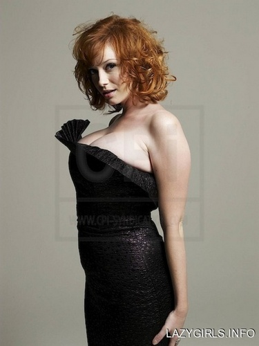 Christina Hendricks wallpaper probably containing a cocktail dress, a playsuit, and a chemise called Christina Hendricks | Unknown Photoshoot