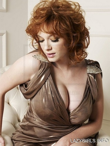 克里斯蒂娜·亨德里克斯 壁纸 possibly with a 鸡尾酒 dress, attractiveness, and a chemise entitled Christina Hendricks | Unknown Photoshoot