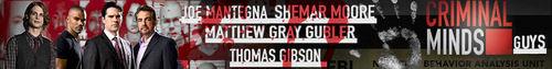 Criminal Minds Guys Banner.