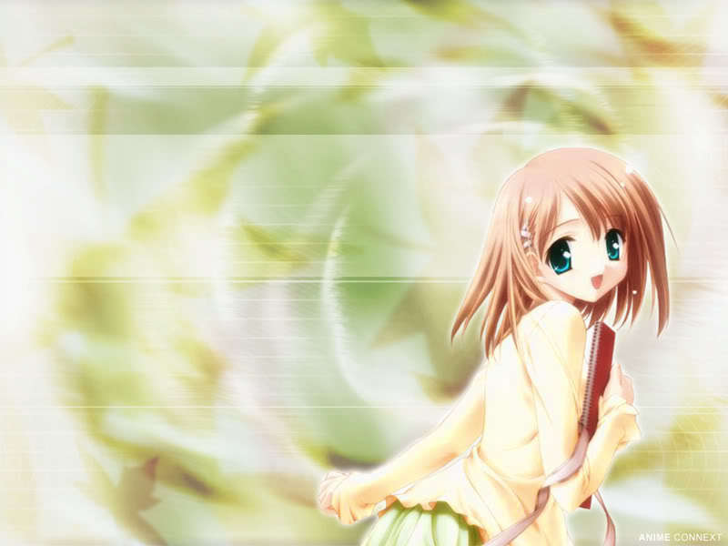 Cute girl anime wallpaper