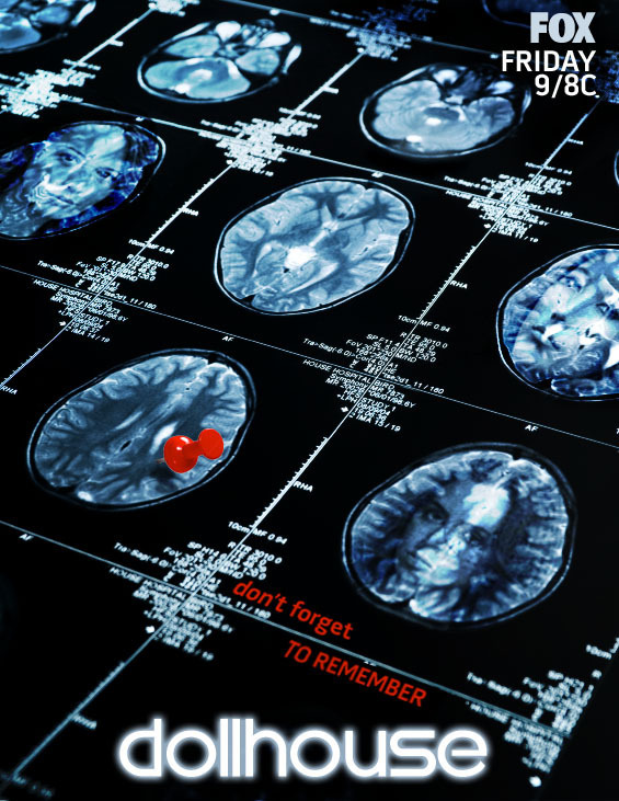Dollhouse Brain Scan Poster