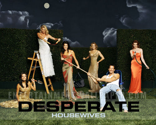 televisie achtergrond called Desperate Housewives