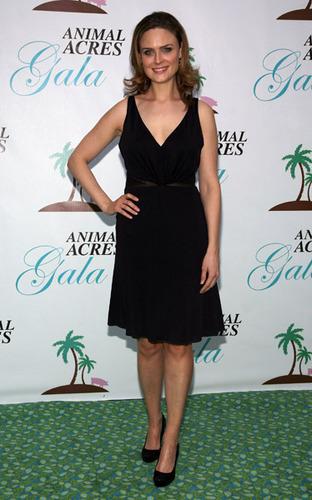 Emily Deschanel at the Animal Acres Gala