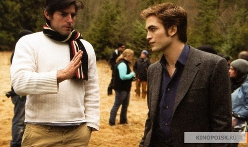 Filming. New Moon
