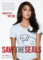 Grace Park's 'Save the Seal' Ad - battlestar-galactica photo