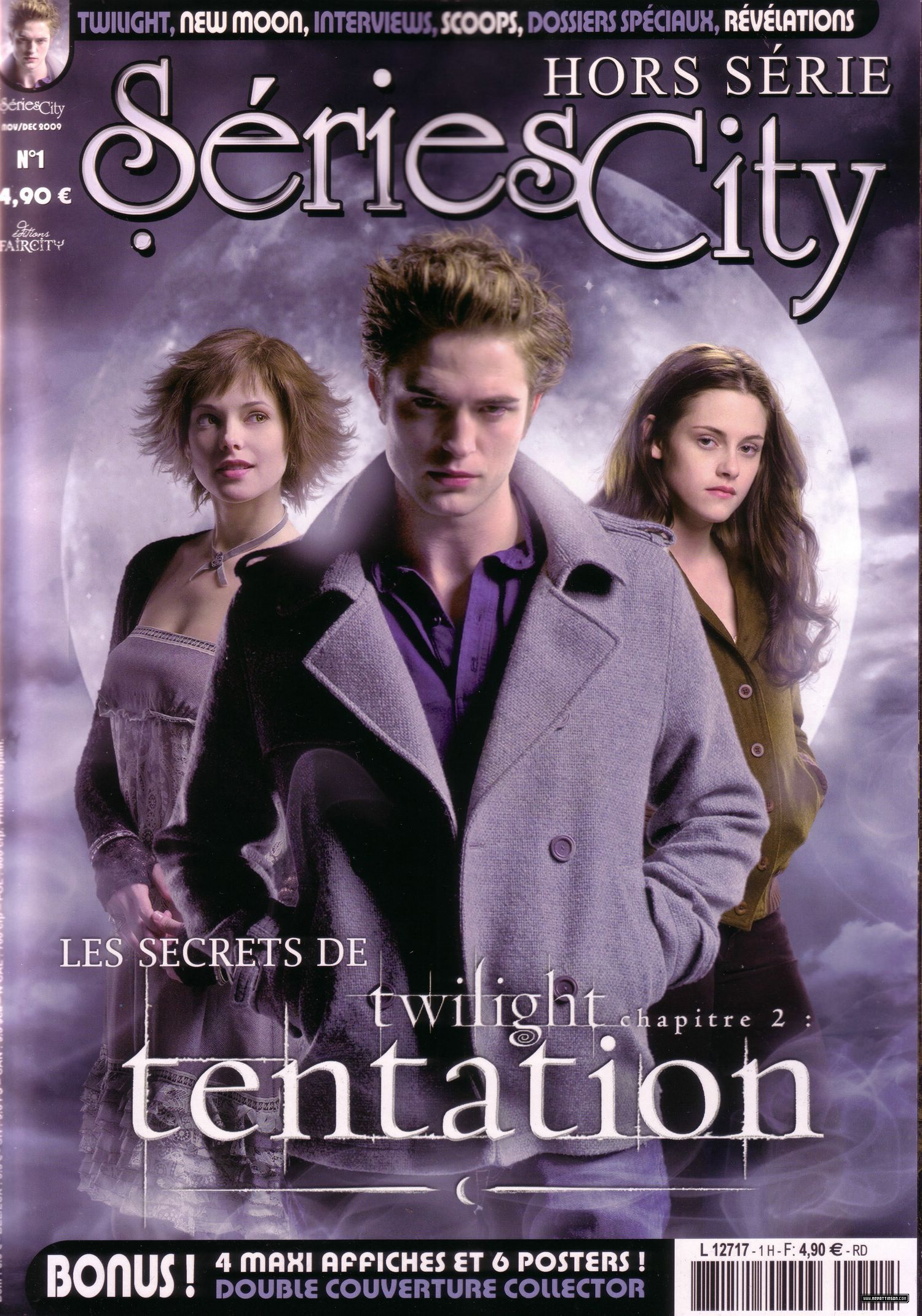 HQ scans from Séries City (Wondeful graphic job !!!)
