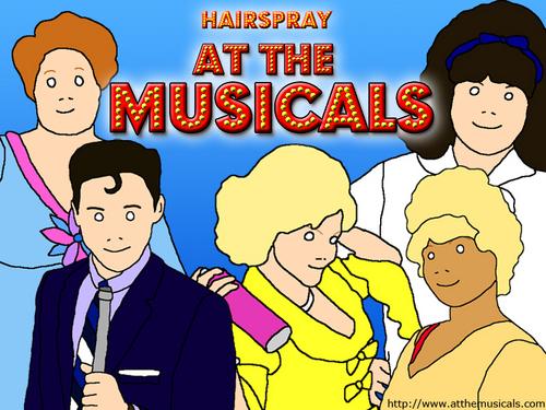 Hairspray At The vichekesho vya muziki