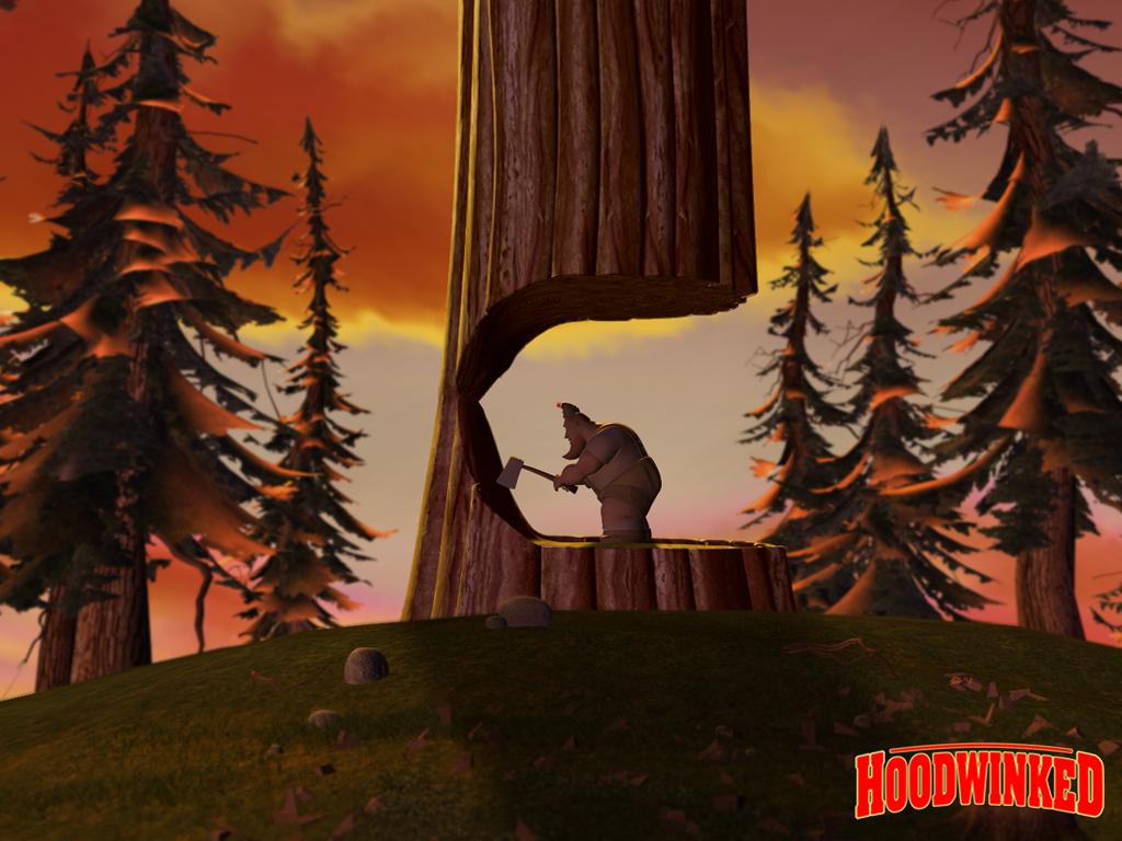 hoodwinked lumberjack