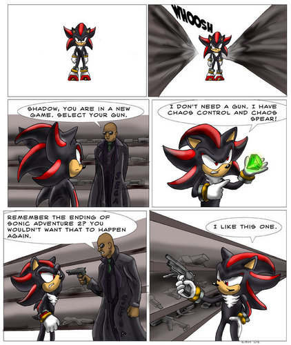 How Shadow got a gun