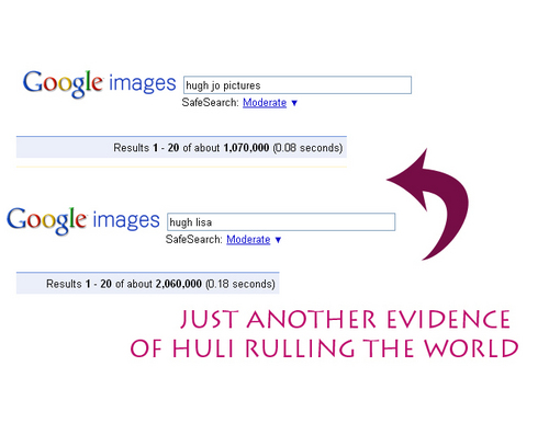 Huli rulls the world, I mean, Google XD
