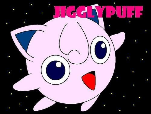 Jigglypuff fondo de pantalla possibly containing anime entitled JIGGLYPUFF