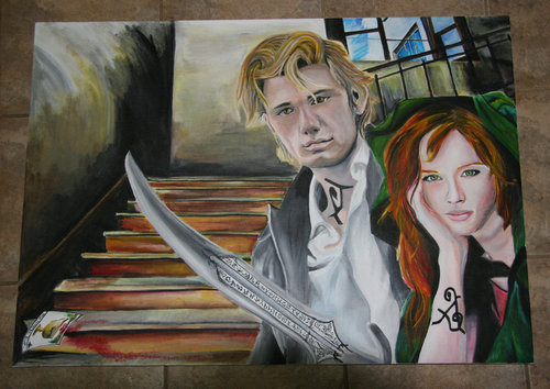 Jace and Clary - COG Painting