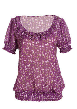 Judy Floral Blouse