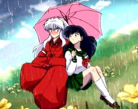 Inuyasha wallpaper with anime entitled Kagome X InuYasha 4ever