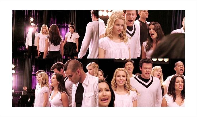 Glee keep holding on 100