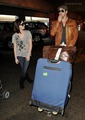 Kellan Lutz & Ashley Greene leave Vancouver  - twilight-series photo