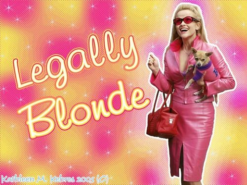 Legally Blonde 壁紙 called Legally Blonde!!!