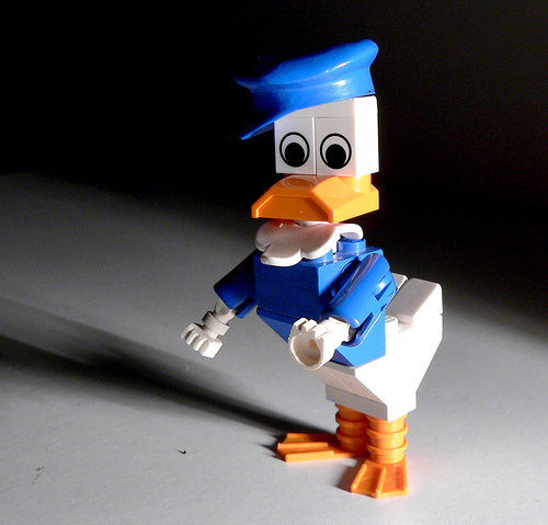 Lego Donald بتھ, مرغابی