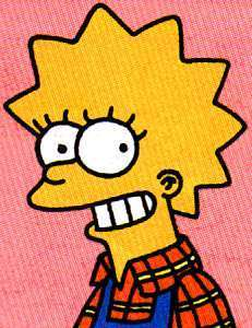 Lisa Simpson achtergrond possibly containing anime titled Lisa1