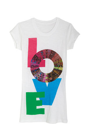 Love Color Wheel Tee