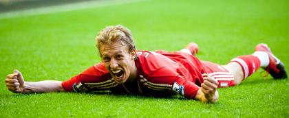 Lucas against utd