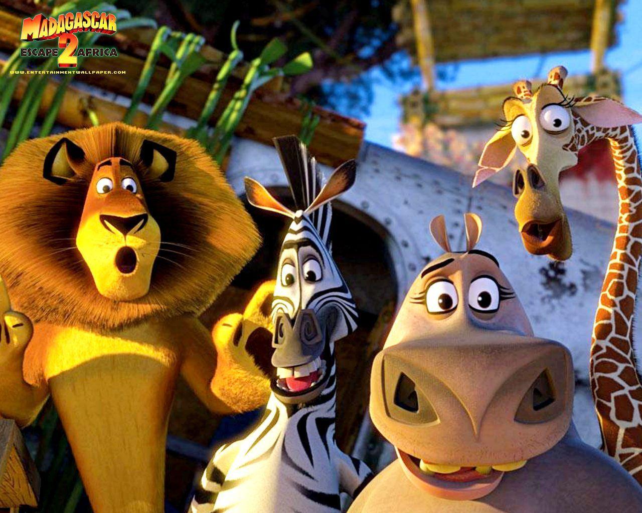 Madagascar 2 Cartoon Characters : Madagascar escape africa images hd