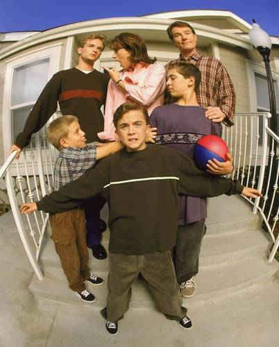 Malcolm In The Middle Season 1 Photoshoot