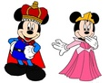 Prince Mickey & Princess Minnie - Sleeping Beauty