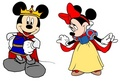 Prince Mickey & Princess Minnie - Snow White - mickey-and-minnie fan art
