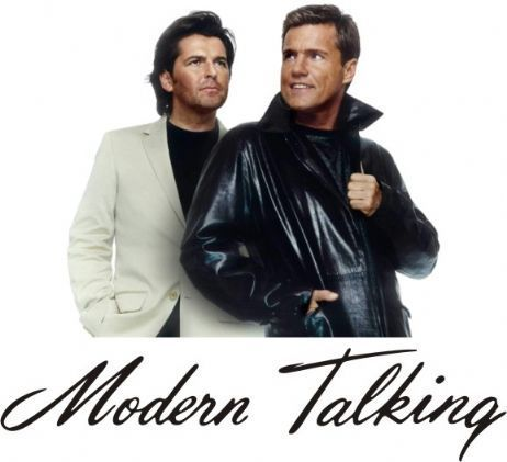 Modern Talking achtergrond containing a business suit and a well dressed person entitled Modern Talking