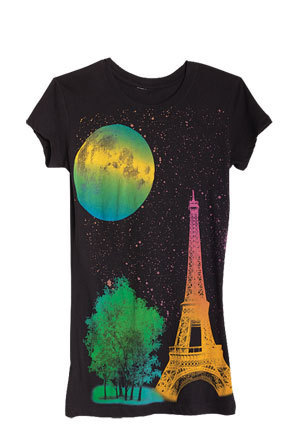 Moon Over Paris Tee
