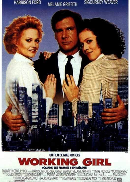 Girls Movie Posters Working Girl Movie Poster