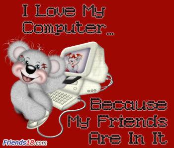 My online Những người bạn