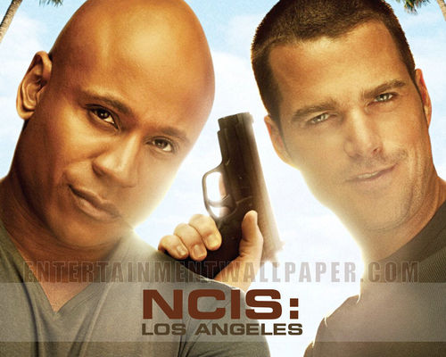 Televisyen kertas dinding entitled NCIS- Los Angeles