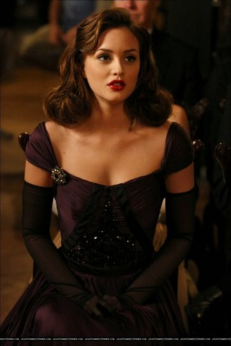 Blair Waldorf wallpaper probably containing a dinner dress, a cocktail dress, and a gown called New 3x06 promo stills