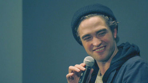 """New Rob and Cath pictures from """"Twilight: Meet the director and actor'"""" (2008)-cuuute!!"""