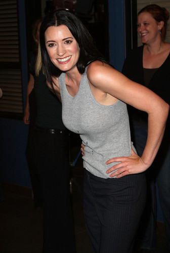 Paget Brewster celebrating 100th Episode of Criminal Minds