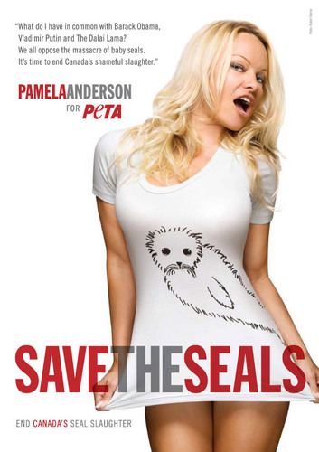 Pam 'Save the Seal' Ad
