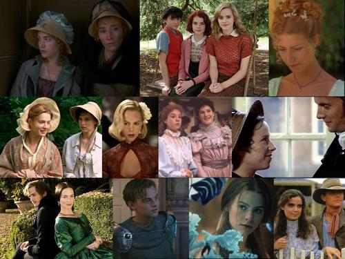 Period Drama Collage