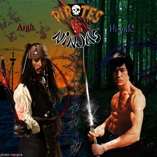 Pirate vs Ninja
