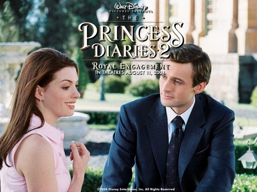 The Princess Diaries 2 wolpeyper with a business suit entitled Pr.D.2
