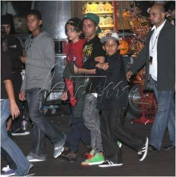 Prince and Omer, Jaffar, Jermaisty