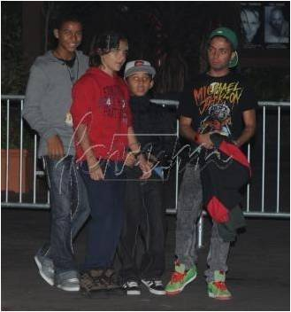 Prince with Omer, Jaffar, Jermaisty
