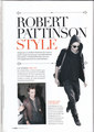 """Rob and New Moon in """"Free"""" Magazine (GREECE) - twilight-series photo"""