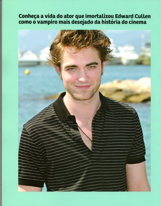 "Robert Pattinson ""Capricho"" Magazine (Brazil)"