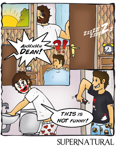 SPN in cartoons