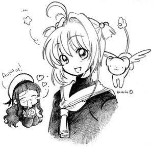 Sakura, Kero & Tomoyo